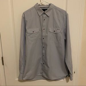 Kenneth Cole light blue button down